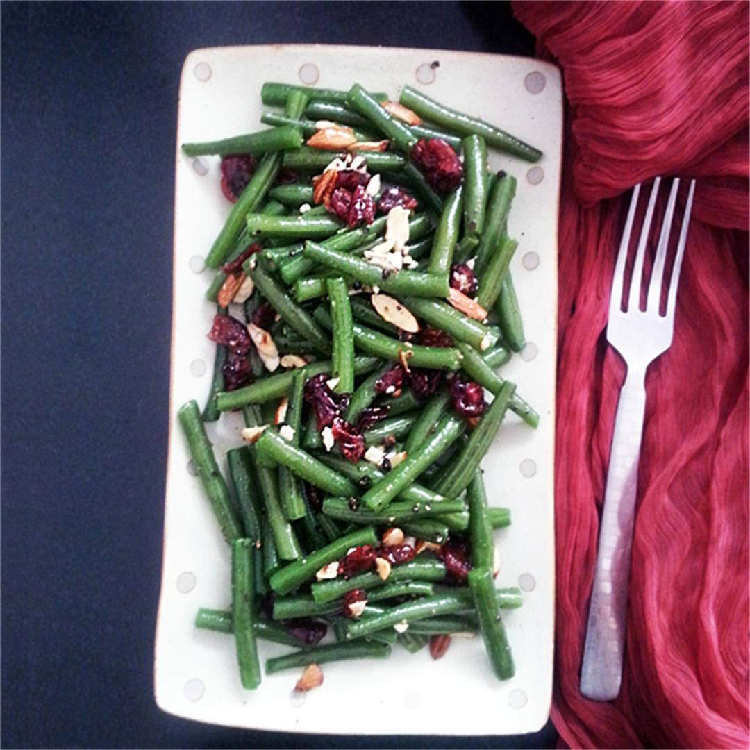 Green Beans with Nuts and Cranberries