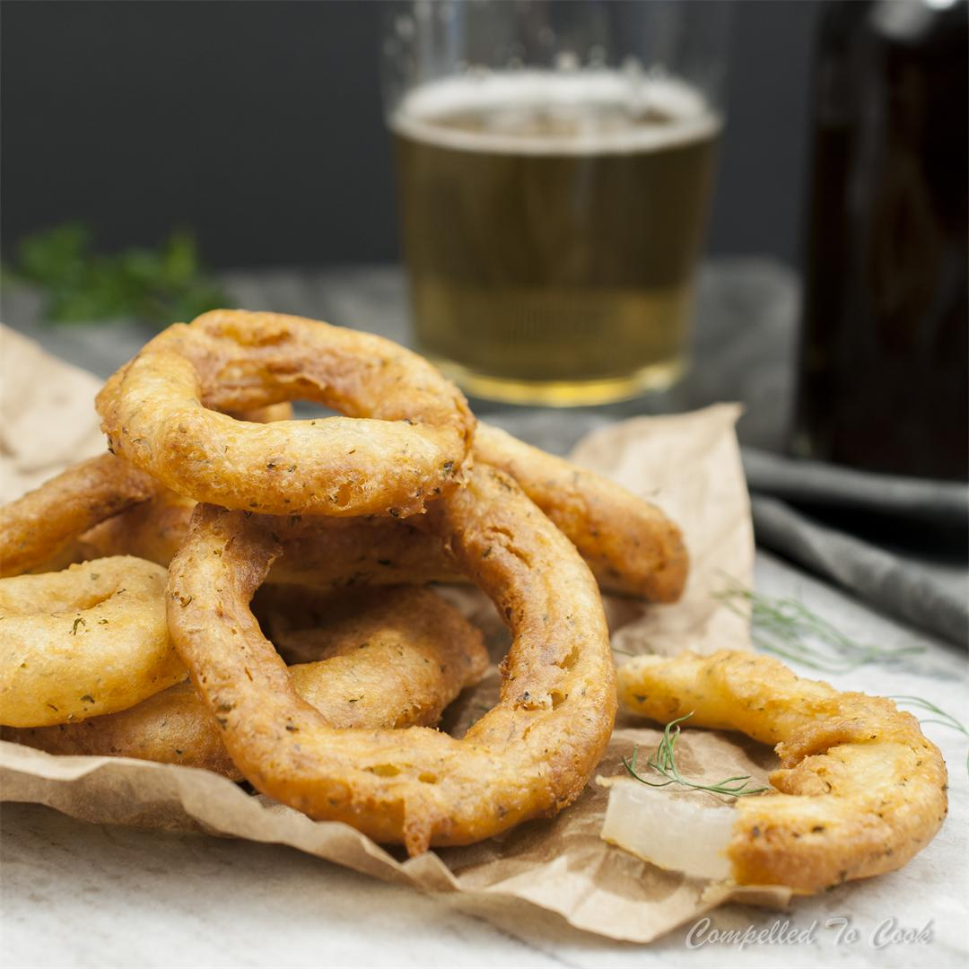 Buttermilk Ranch Onion Rings