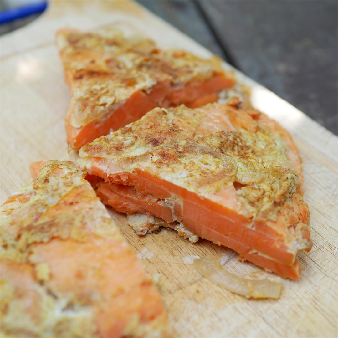 Sweet Potato Spanish Omelette