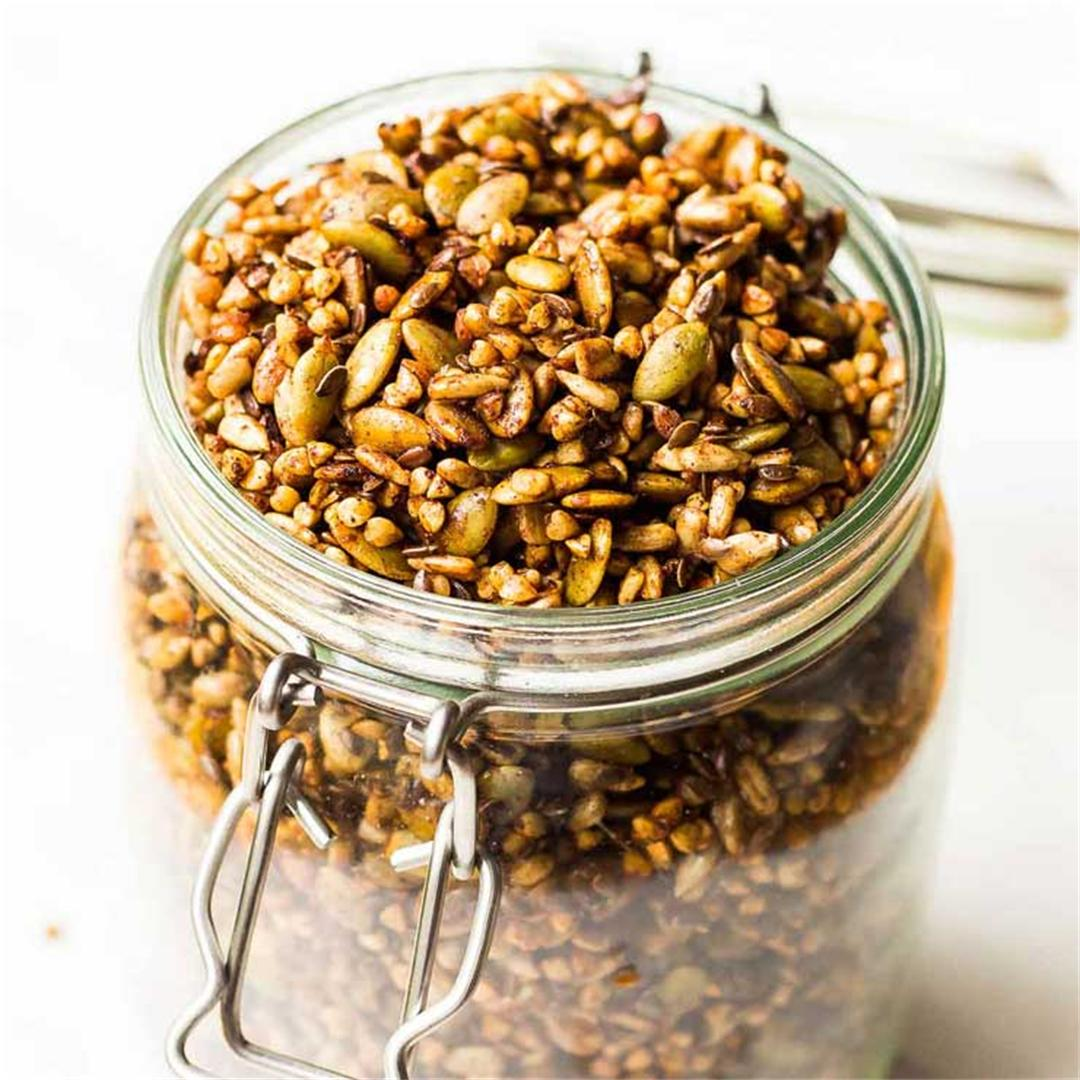 Crunchy Buckwheat Granola - Gluten and Nut Free!