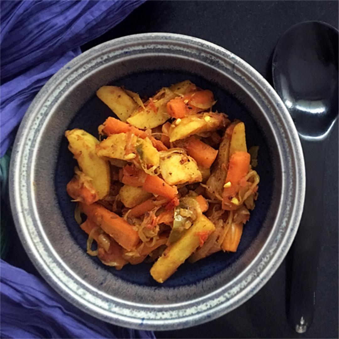 Potato Carrot Curry