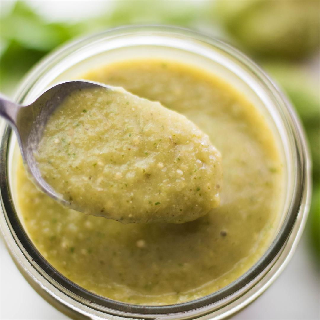 Green Chili Enchilada Sauce