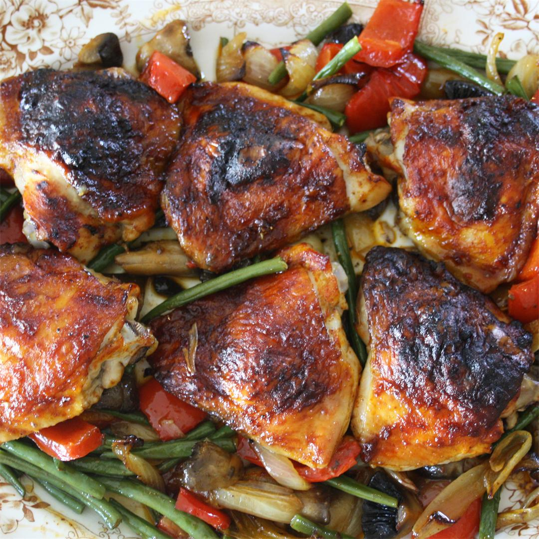 Baked Harissa Chicken