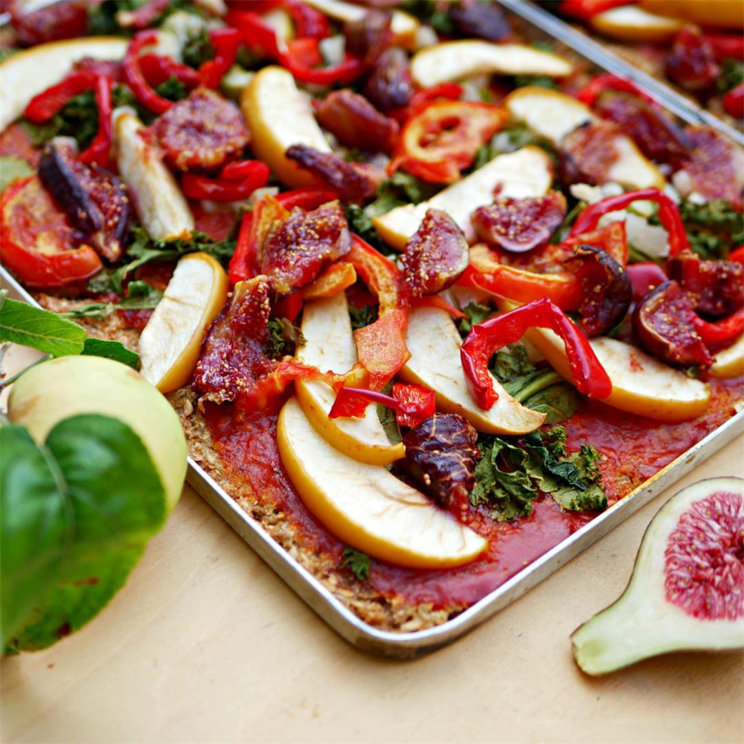 Apple & Fig Pizza
