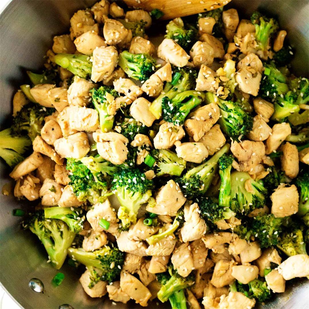 15 Minute Sesame Chicken And Broccoli