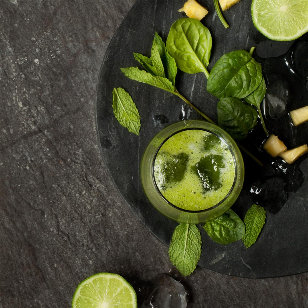 Immune Boosting Mint Green Smoothie