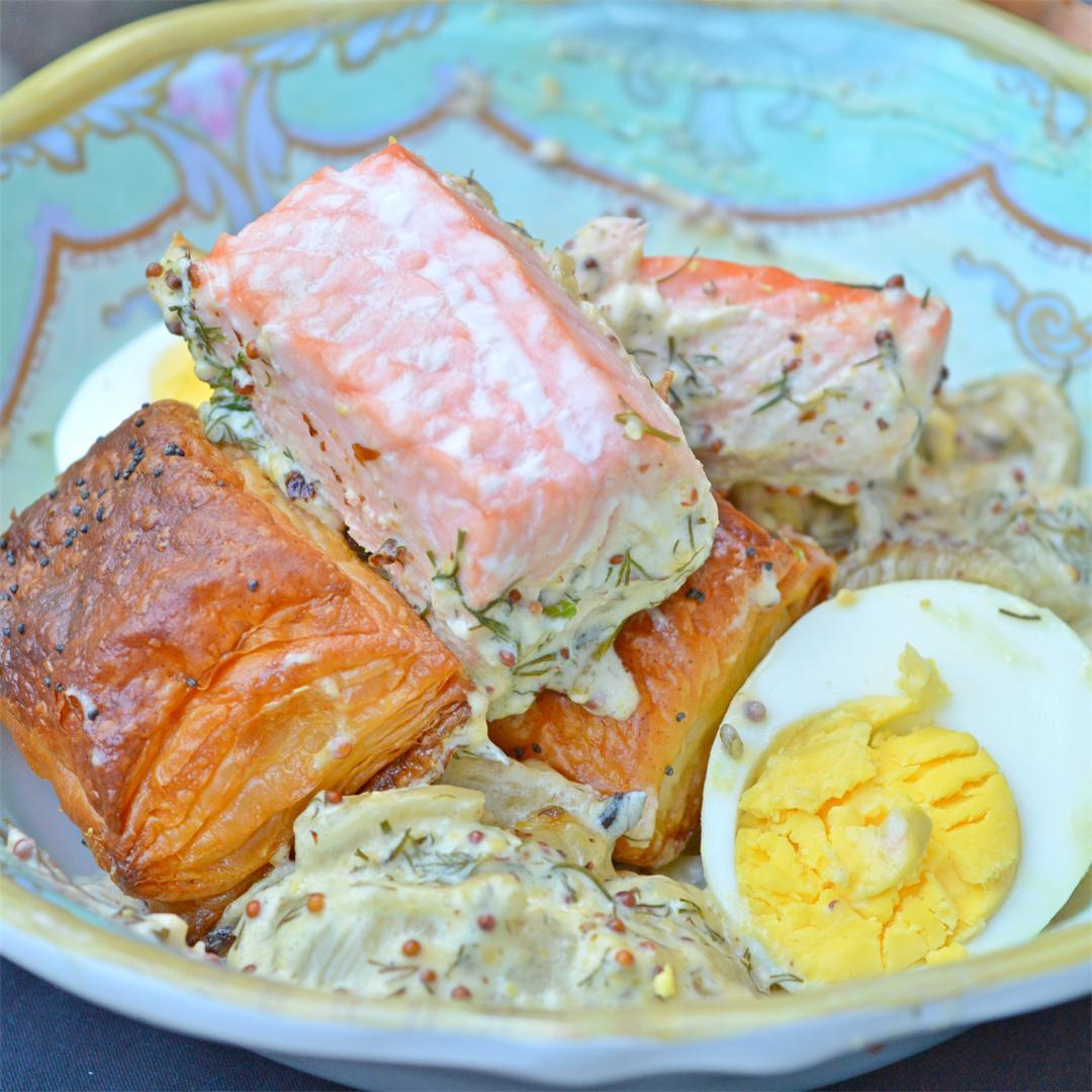 Salmon & Fennel Casserole