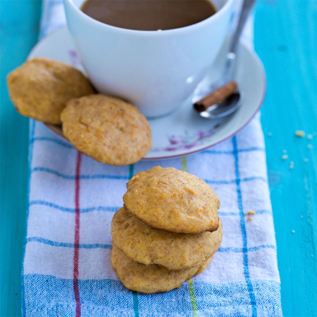 Soft Pumpkin Cream Cheese cookies