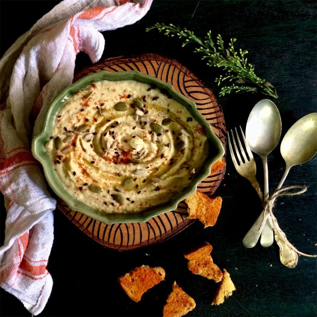 White Chickpea Hummus