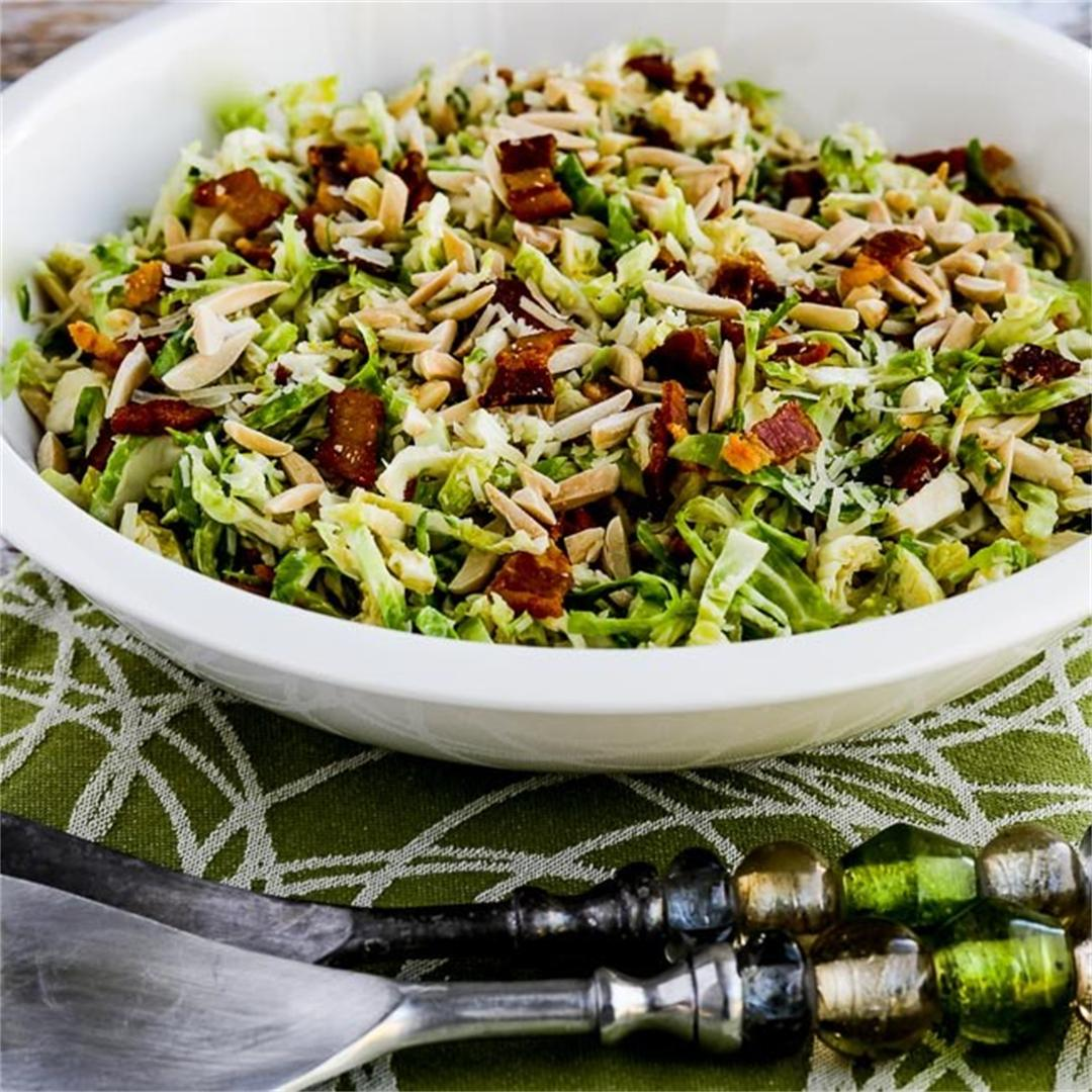 Low-Carb Brussels Sprouts Salad