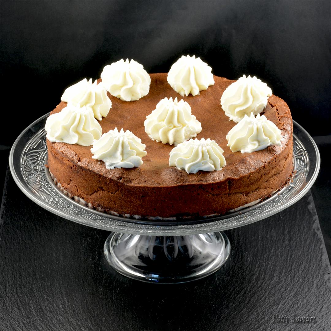 Rustic Chocolate Almond Torte