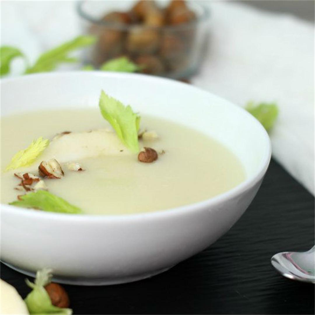Creamy Parsnip Soup
