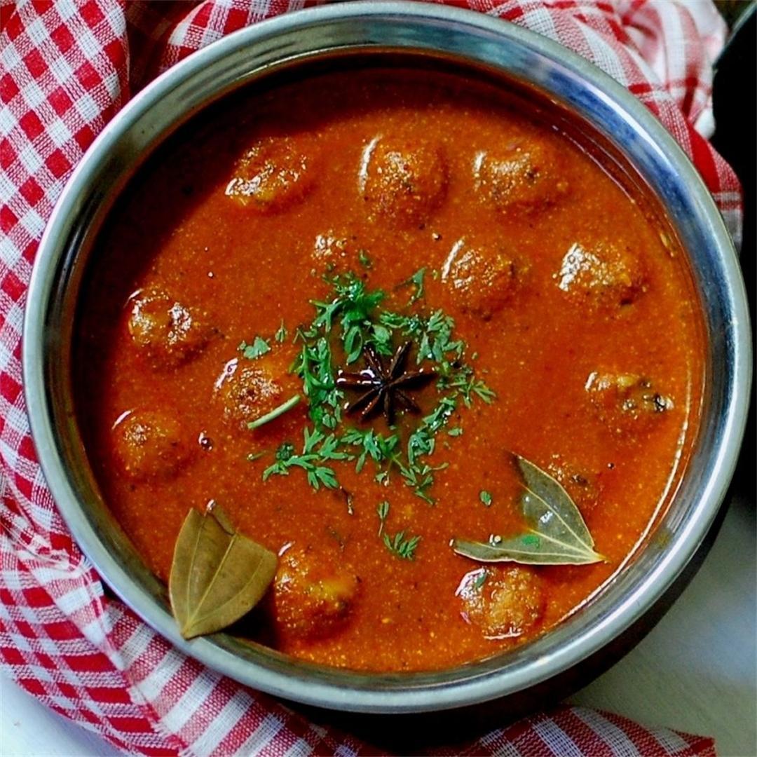 Paneer Rogan Josh - Kashmiri Cuisine