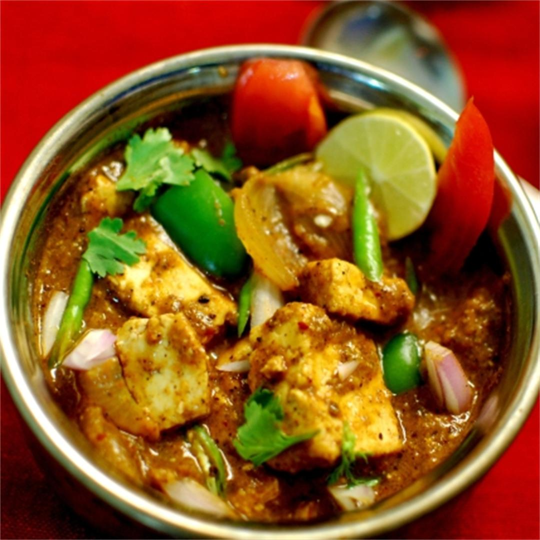 Achari Paneer (Cottage Cheese) Masala