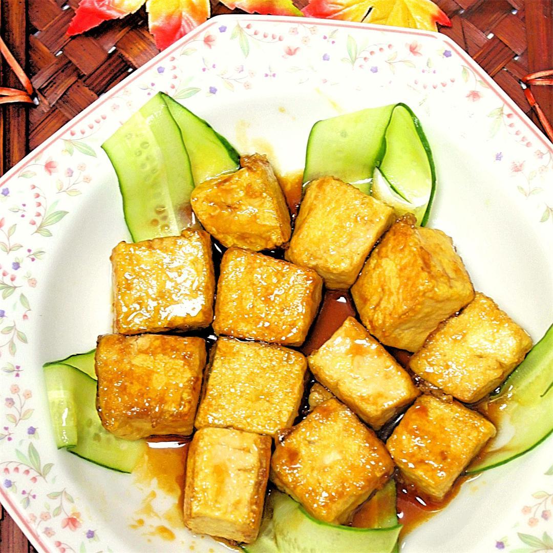 Tofu and Teriyaki sauce are best friends!