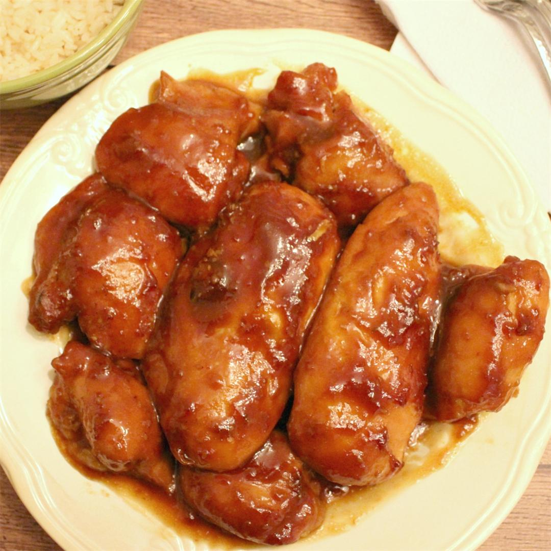 Simple Honey Glazed Chicken