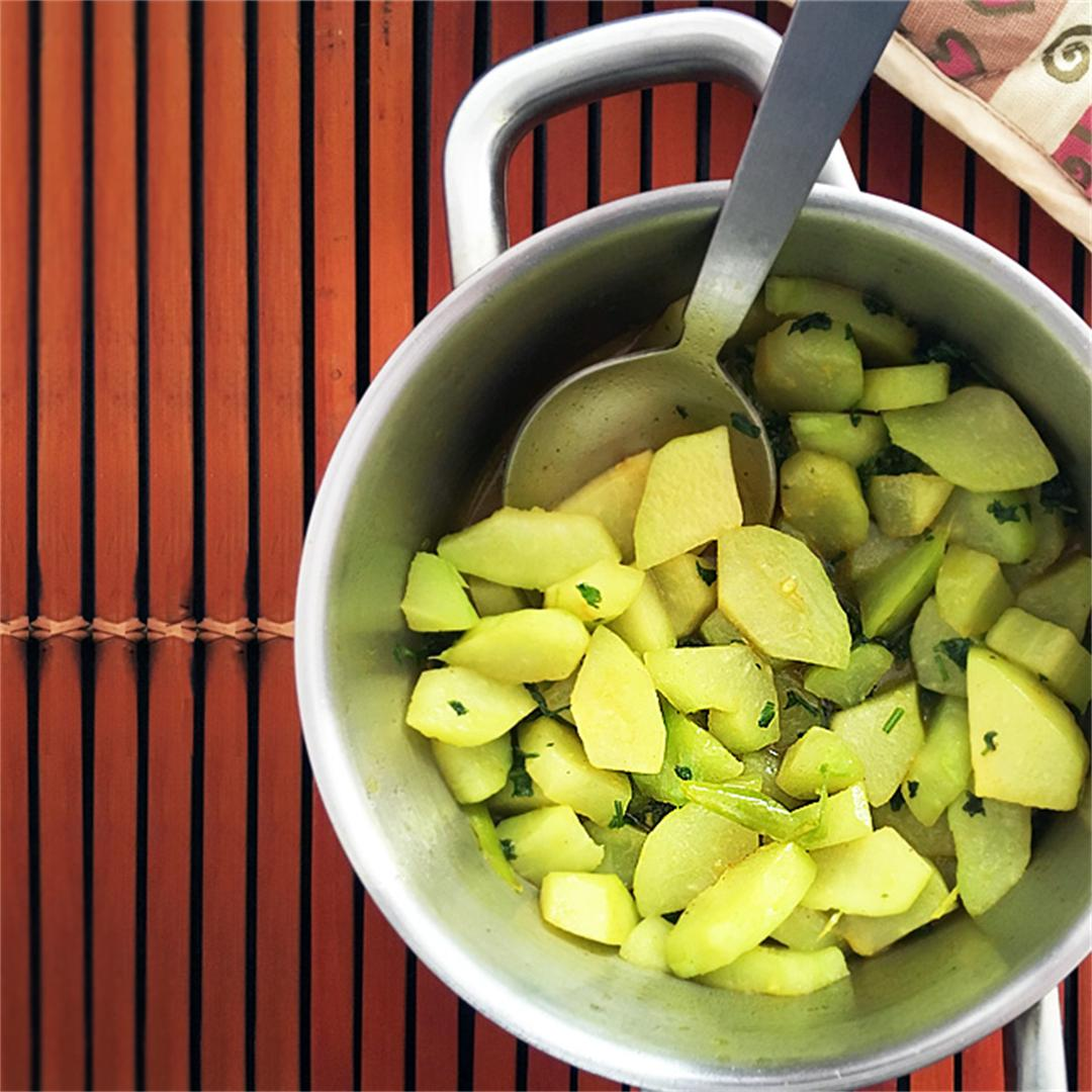 Easy Chayote Stew