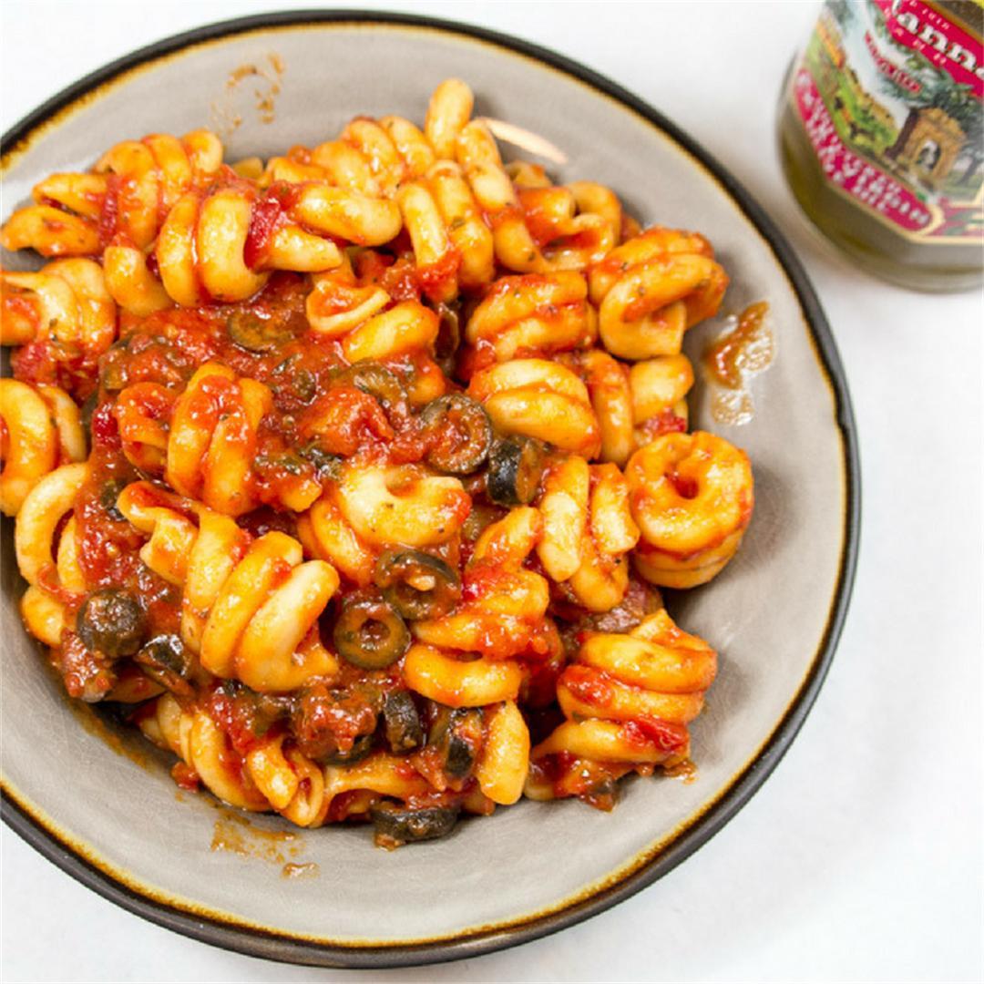 4 Minute Pasta & Meatballs - Pressure Cooker