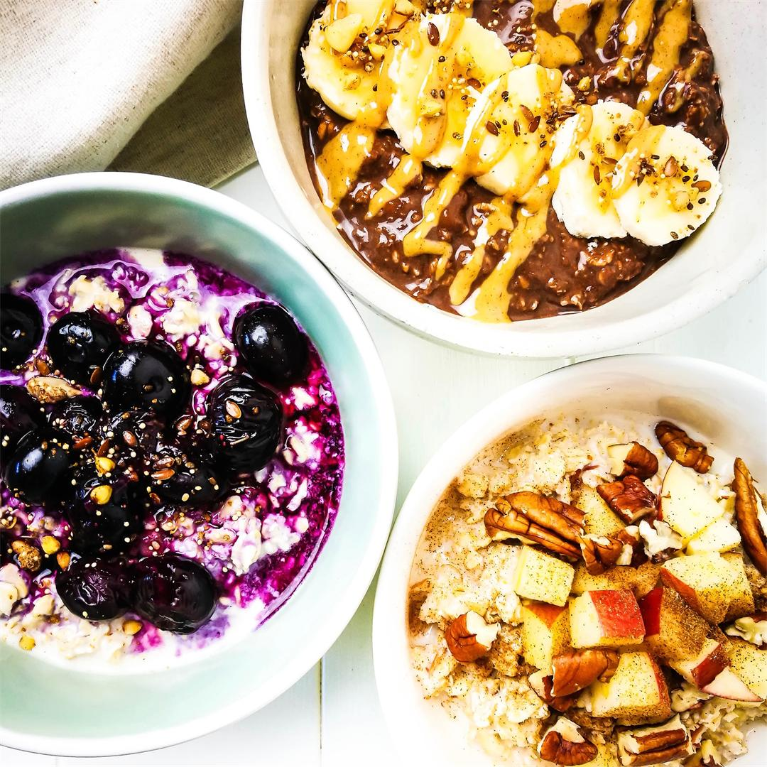 Winter Overnight Oats