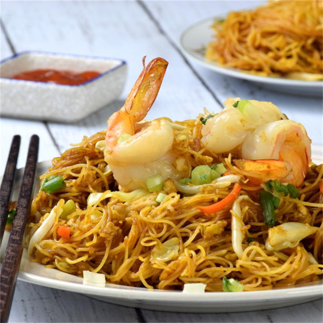 Singapore Noodles (Rice Vermicelli)