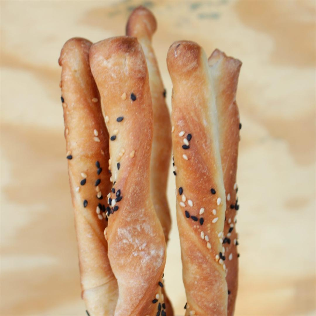 Grissini | Traditional Italian Breadsticks