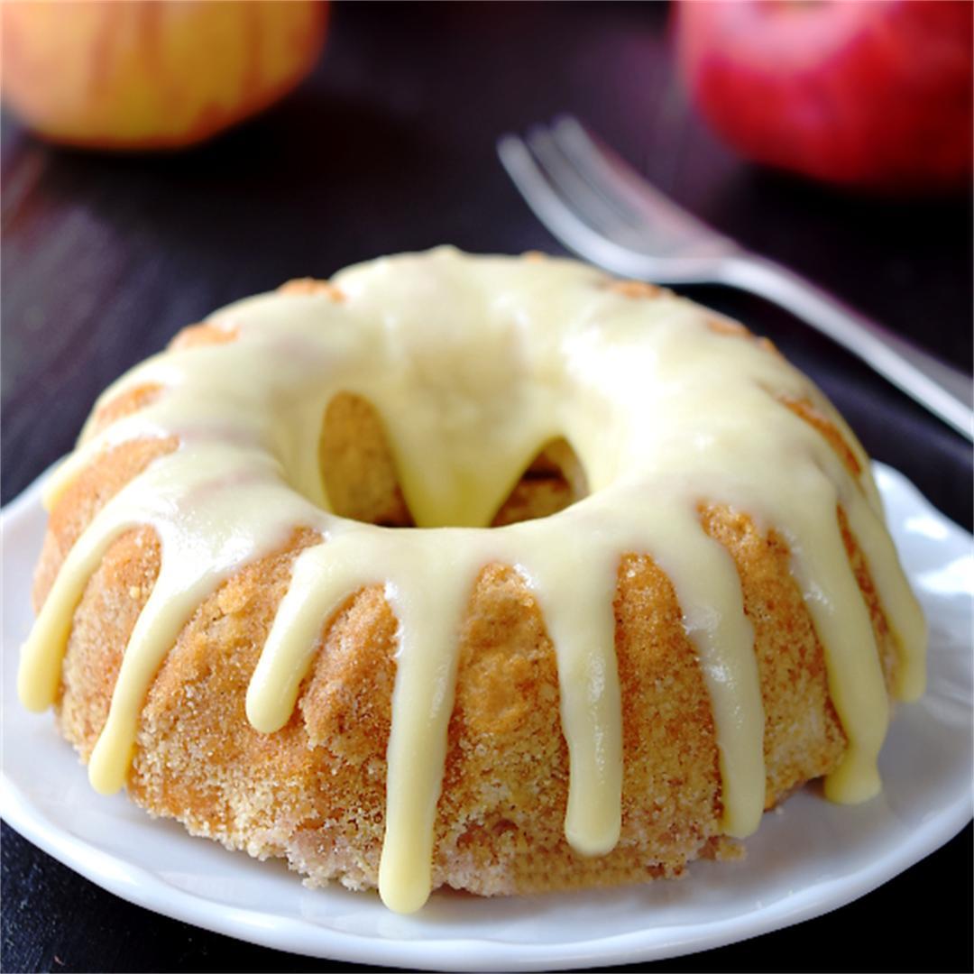 Apple bundt cake - mini bundt cake recipes