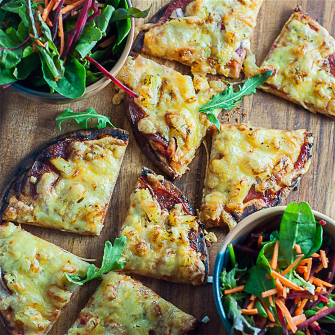 Healthy Pocket Bread Pizza
