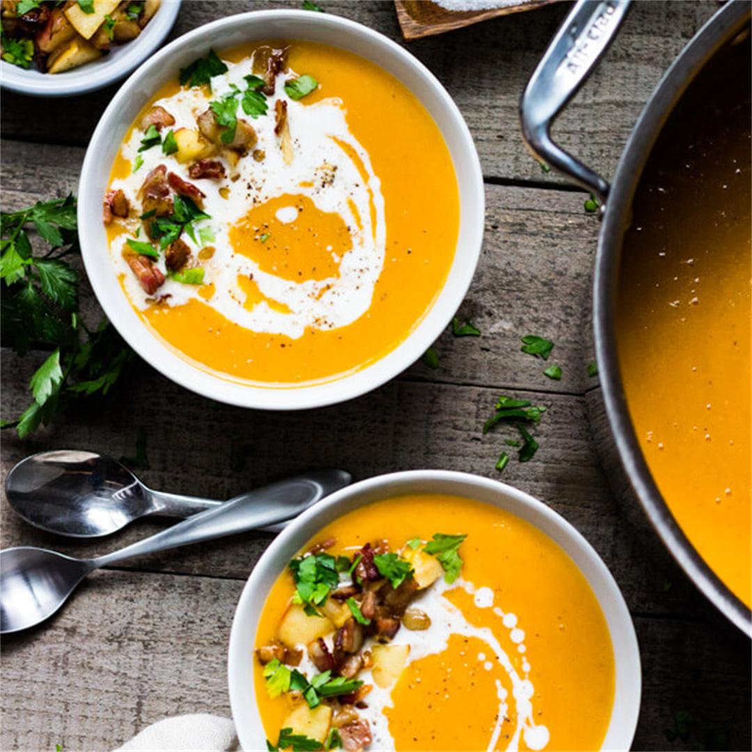 The Best Creamy Butternut Squash Soup
