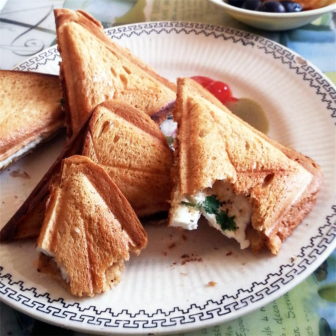 Toasted Paneer Sandwich