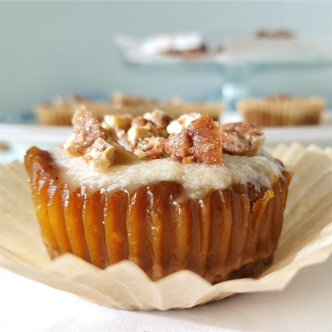 Individual Maple Pecan Pumpkin Pie Tarts
