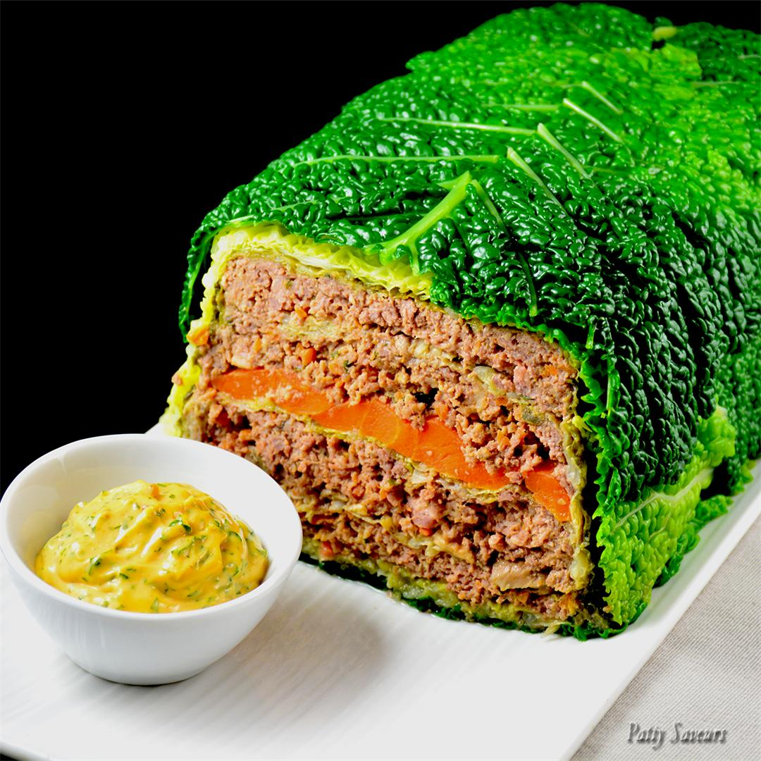 Stuffed Cabbage Loaf