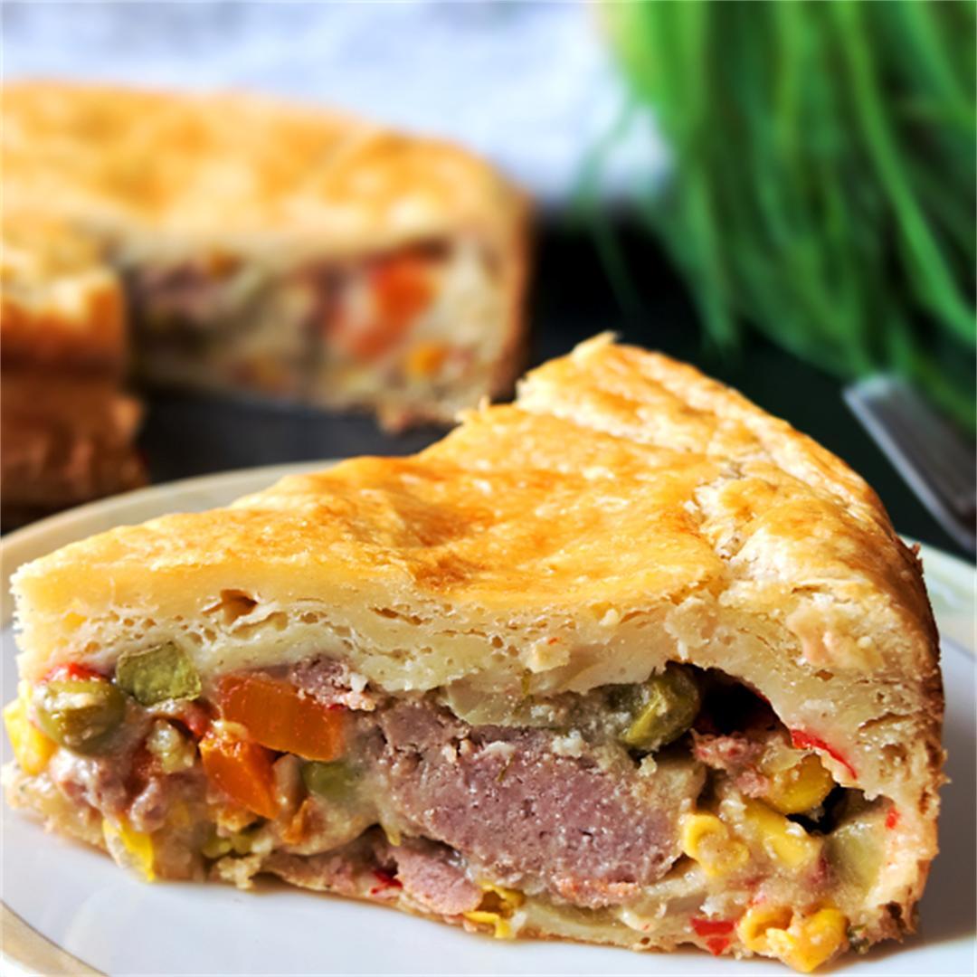 Turkey pot pie - Turkey leftover recipes