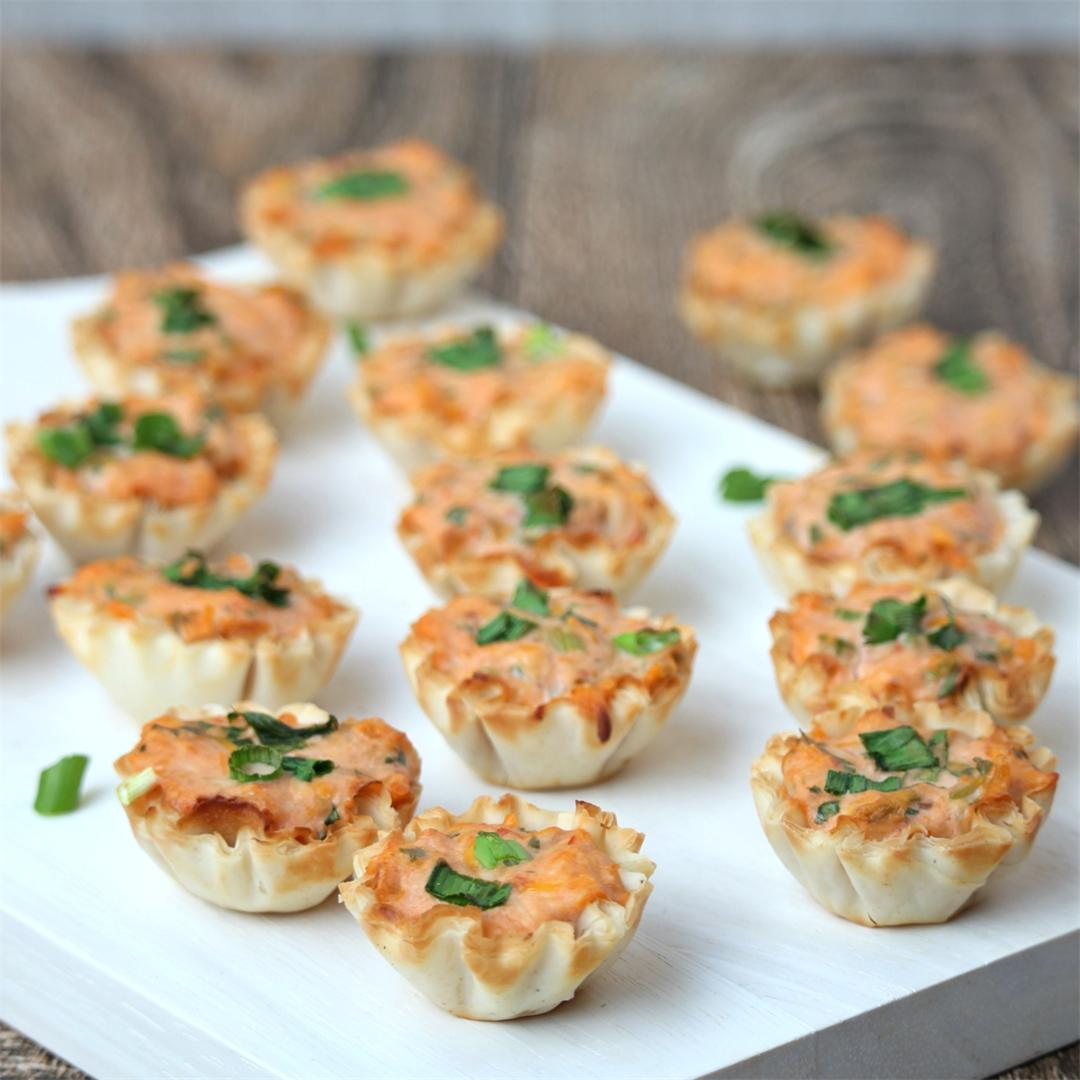 Savory Phyllo (Filo) Cups – Mexican Flavored Appetizer