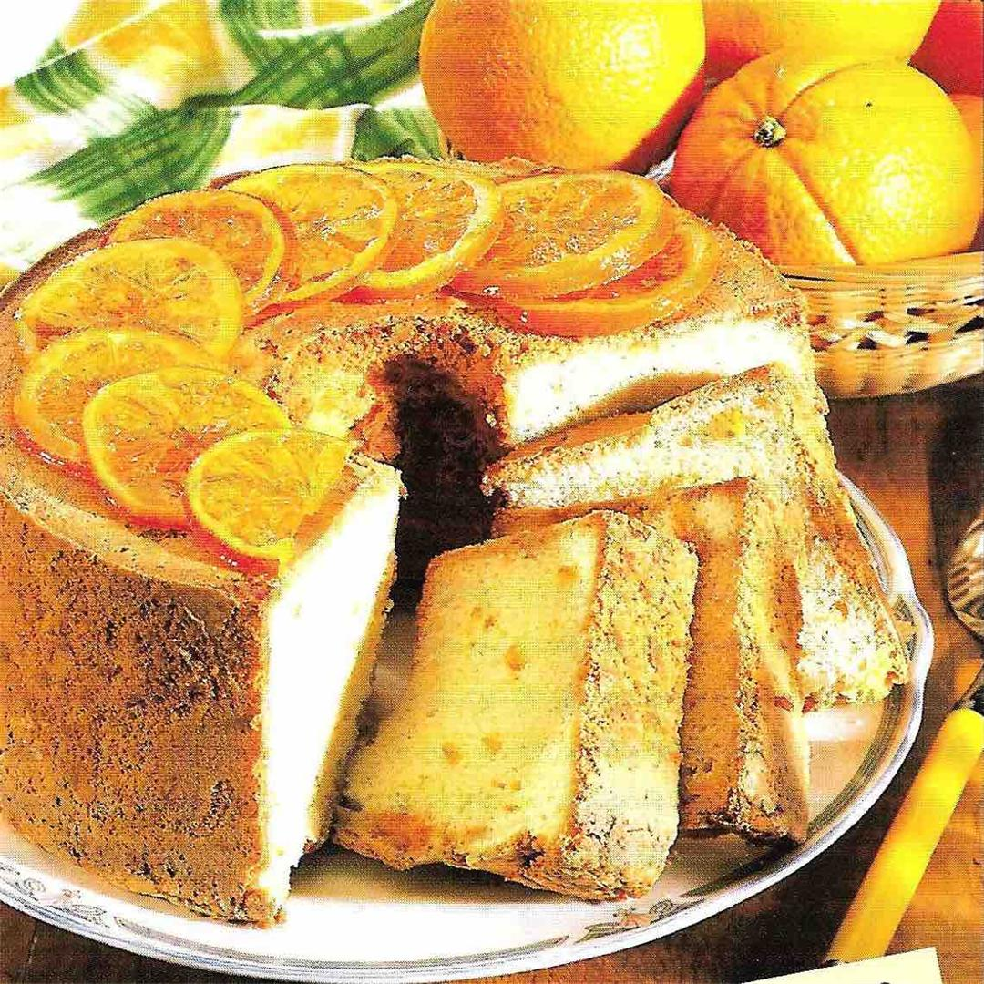 Orange and ginger cake