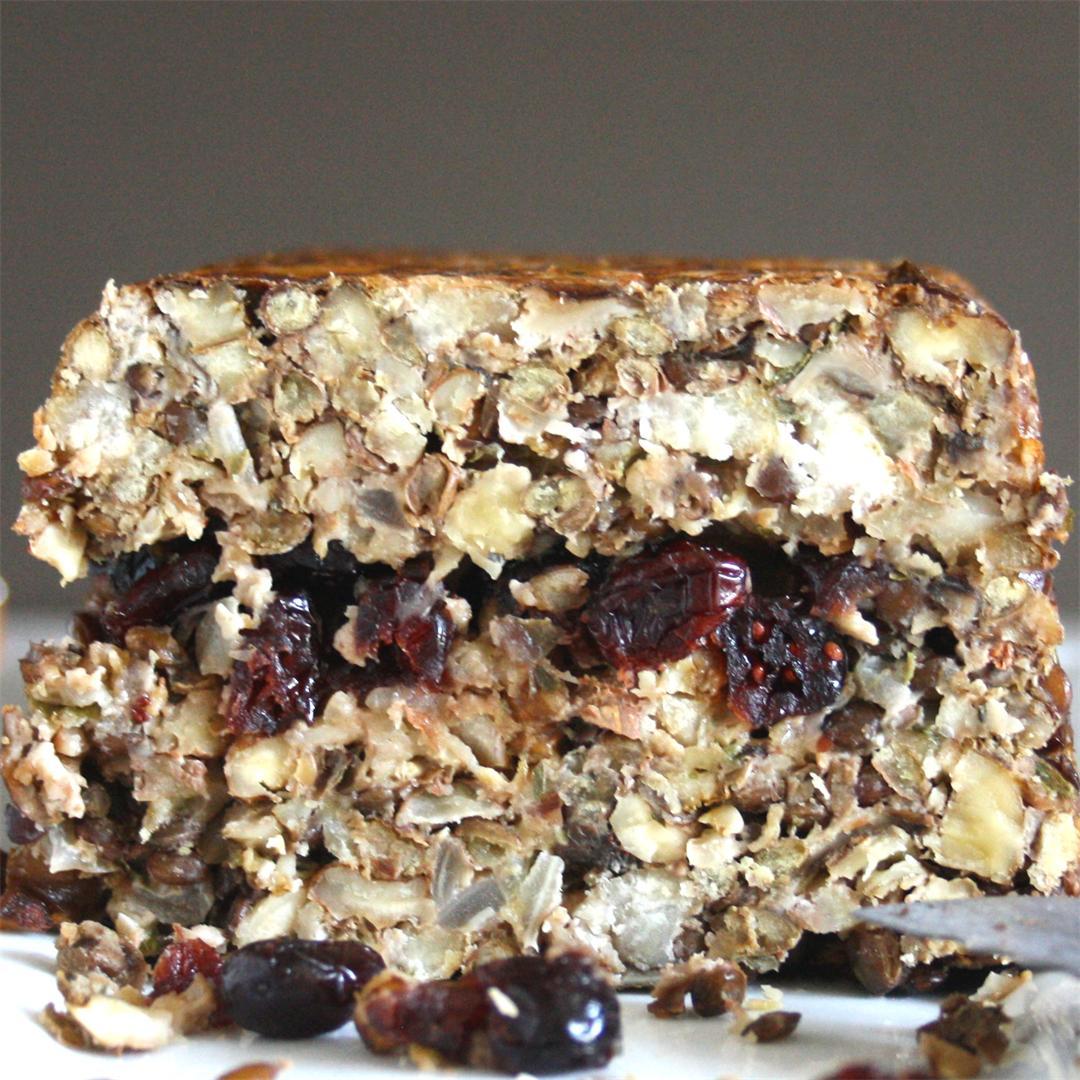 Festive Nut Terrine (gluten free)