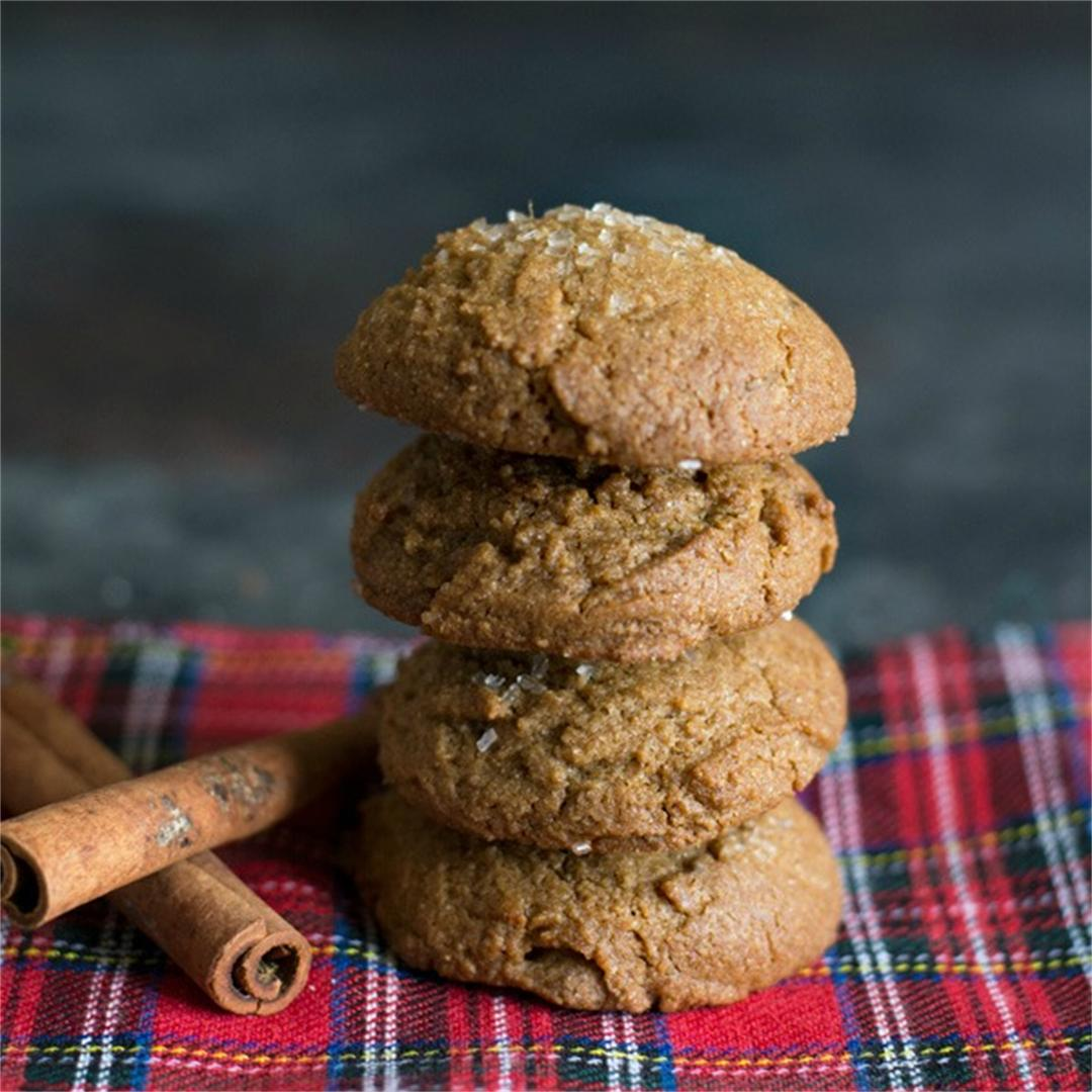 Easy Gluten Free Ginger Cookies