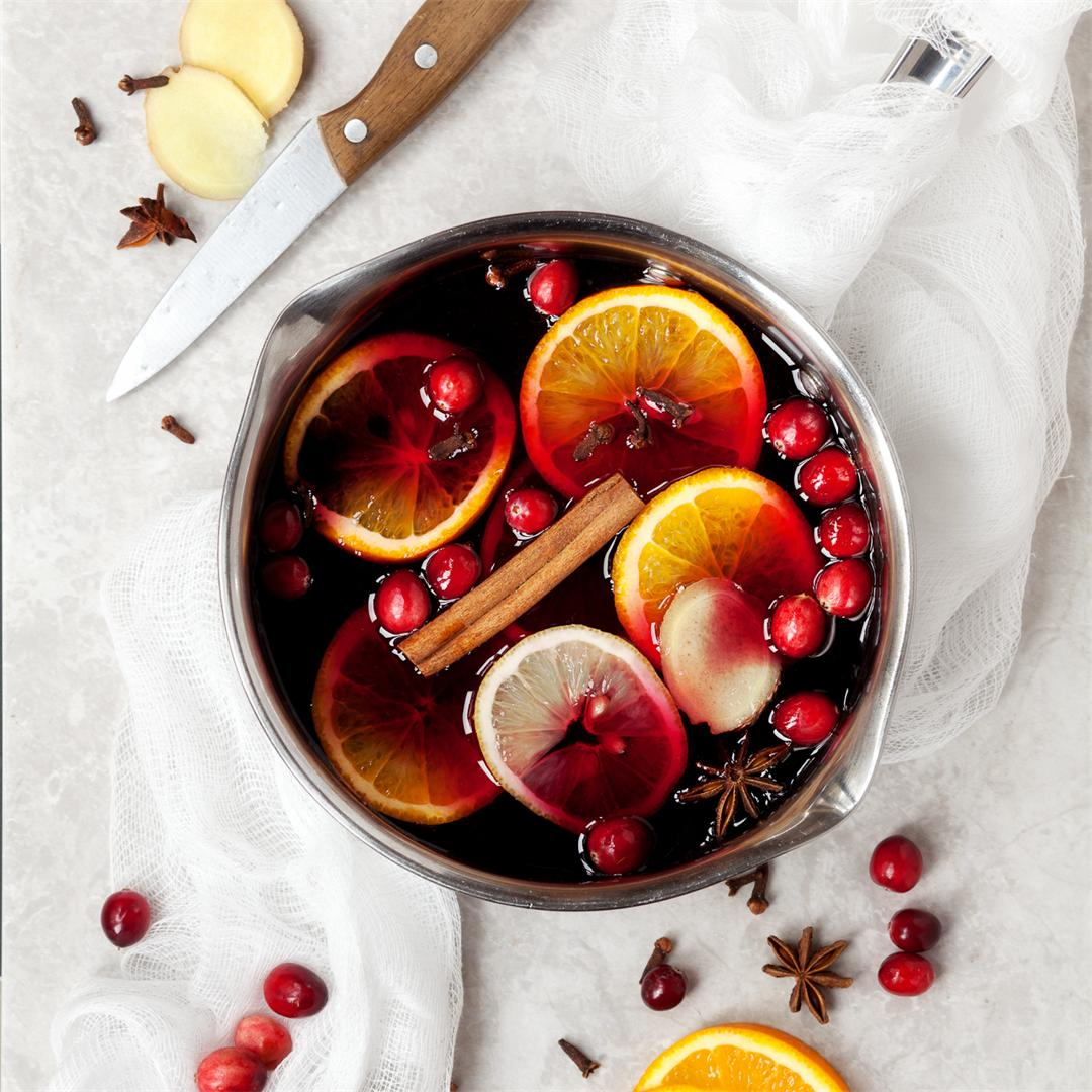 Alcohol-free Mulled Grape Juice