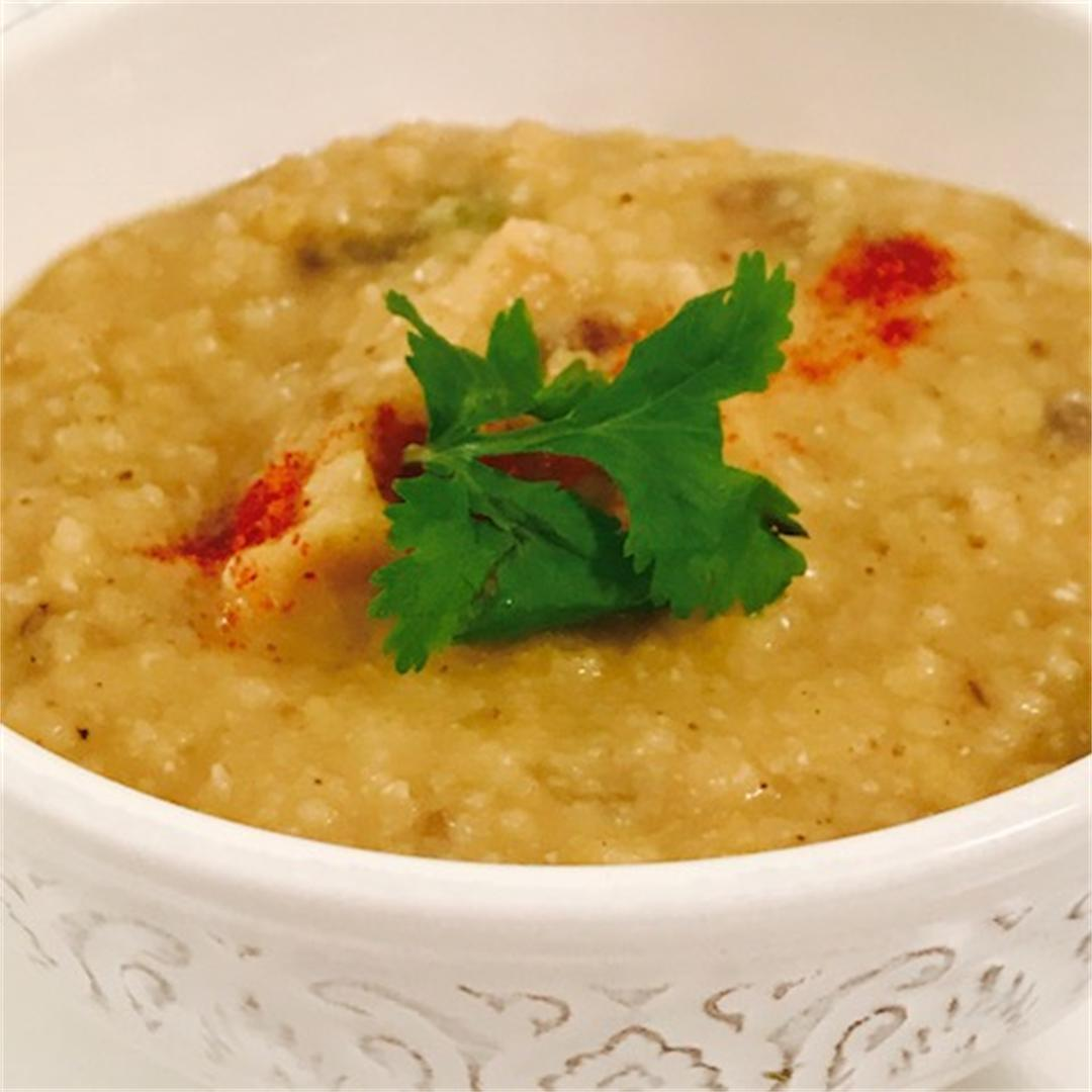 Easy red lentil dal is healthy, full of flavour and delicious