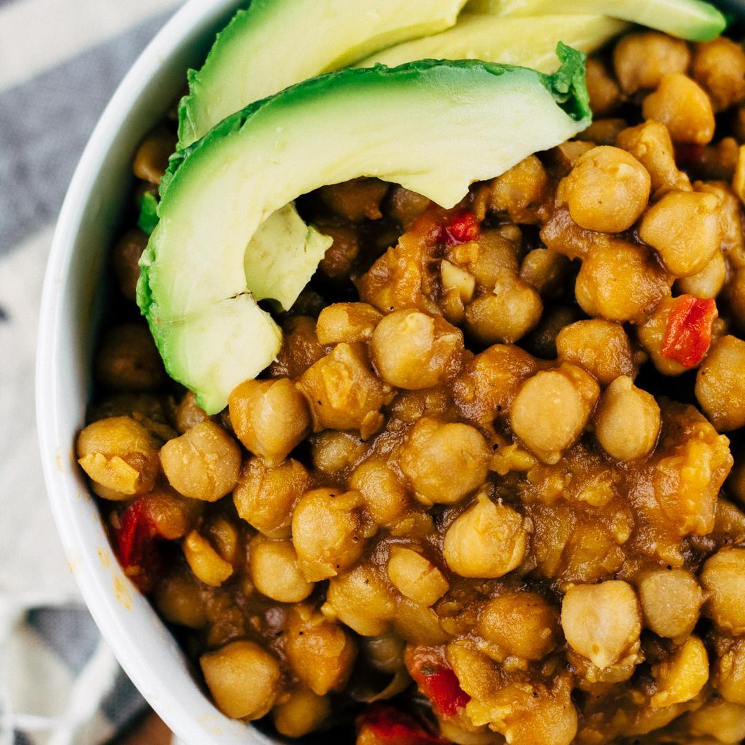 Vegan Garbanzo Bean Soup