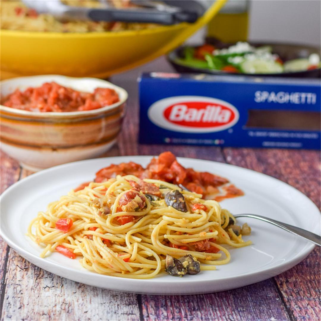 Spaghetti Egg Extravaganza