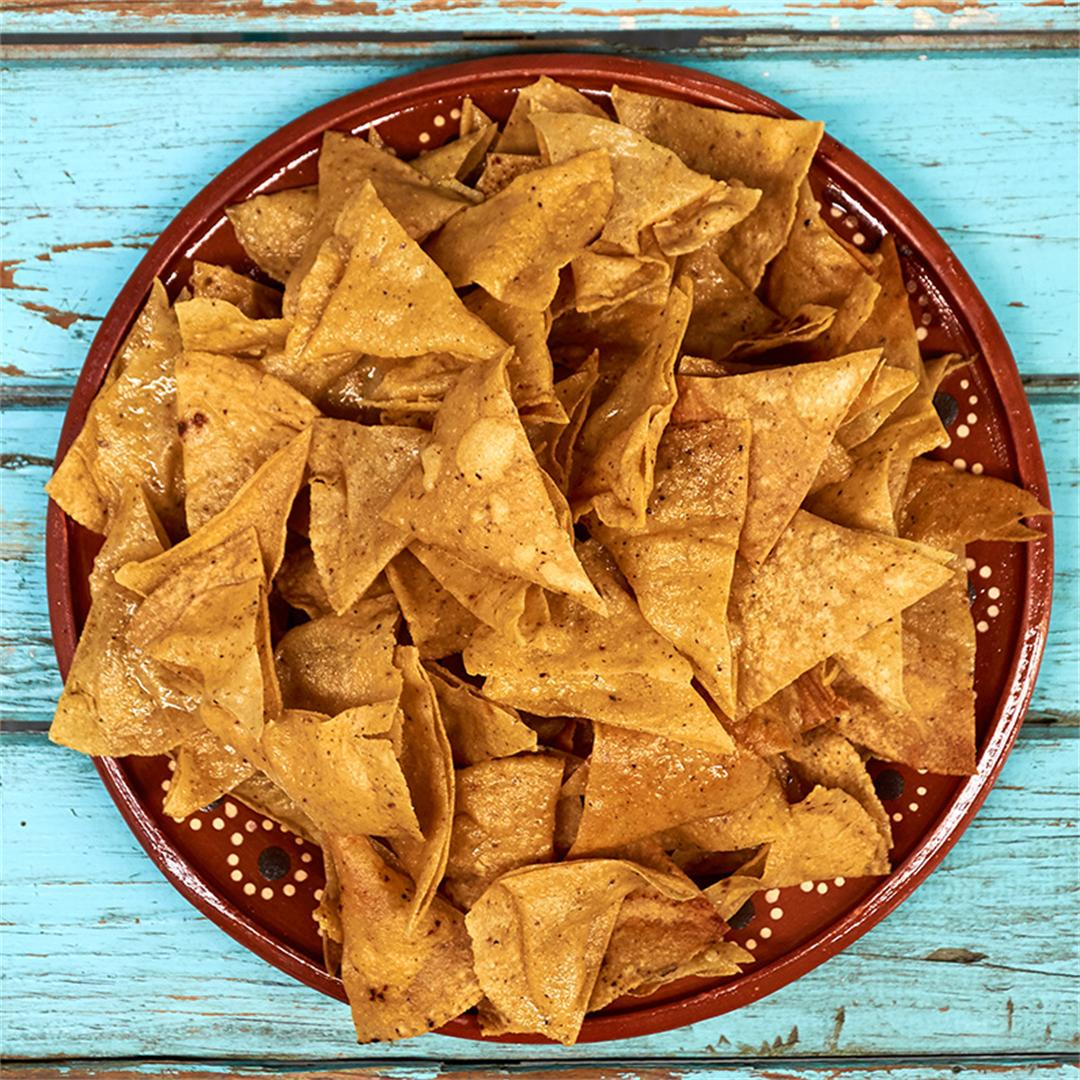 How To Make Tortilla Chips Totopos