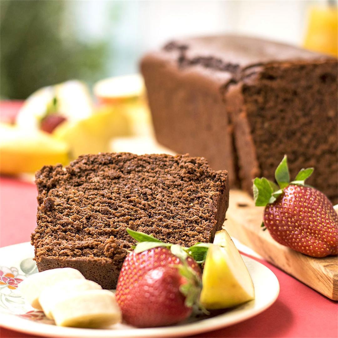 Olive oil & tahini Chocolate Cake