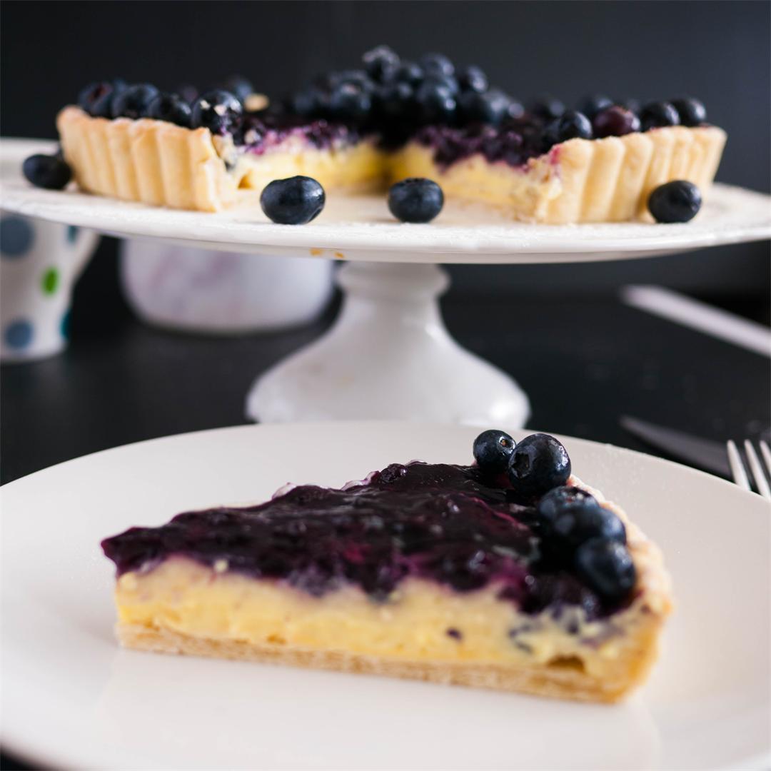 Classic Blueberry Tart Recipe