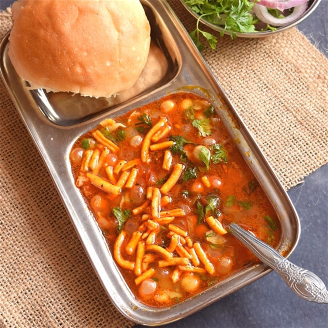 Vatana Usal-Spicy peas Curry