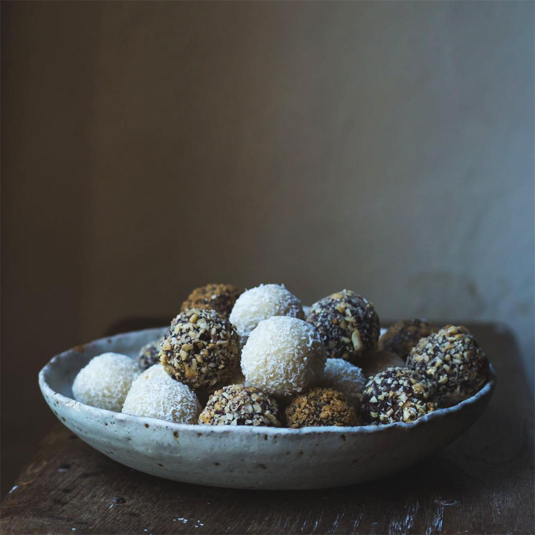 No Trouble Vegan Truffles 3-Ways