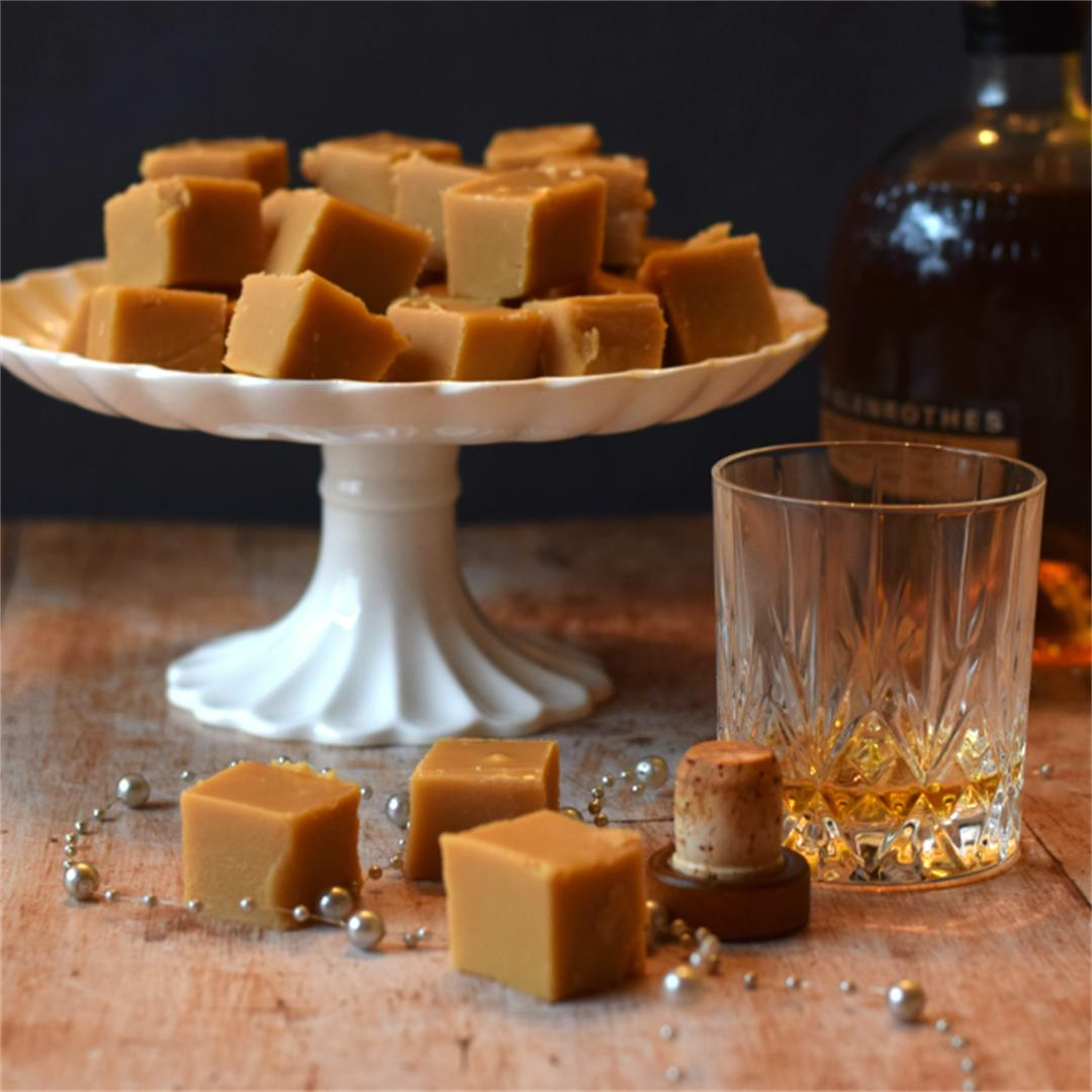 Homemade Whisky (Whiskey) Fudge