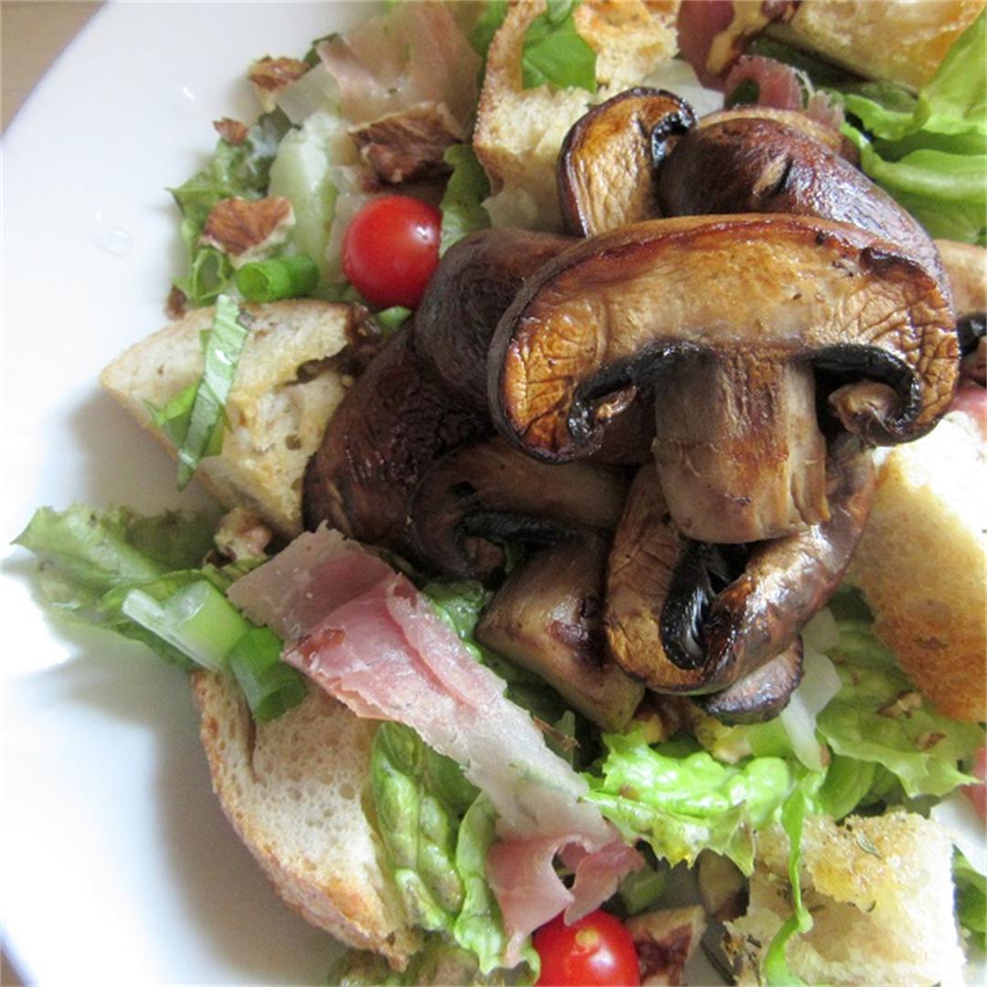 Seared Mushroom Salad