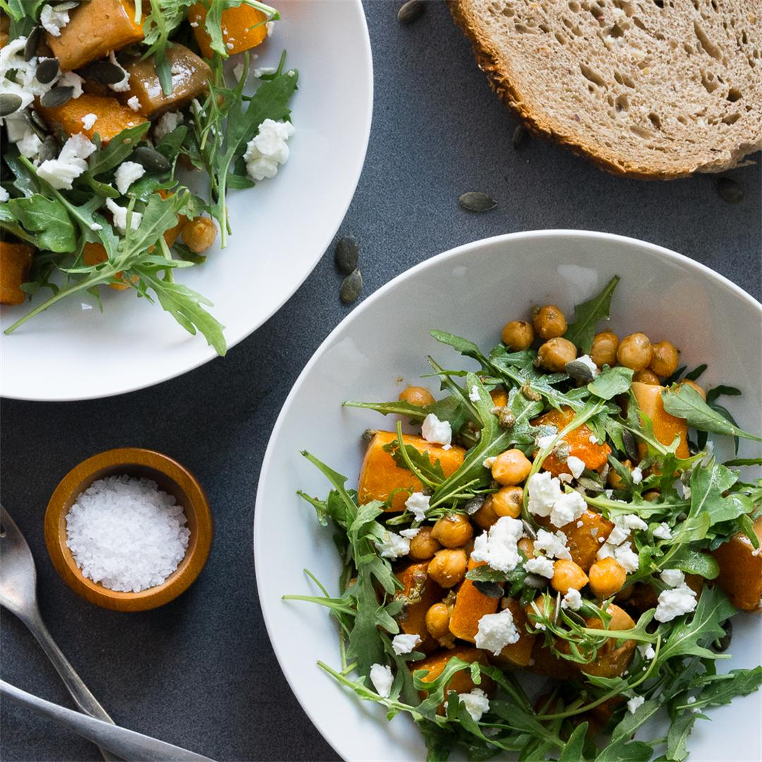 Ultimate Roasted Butternut Squash Salad