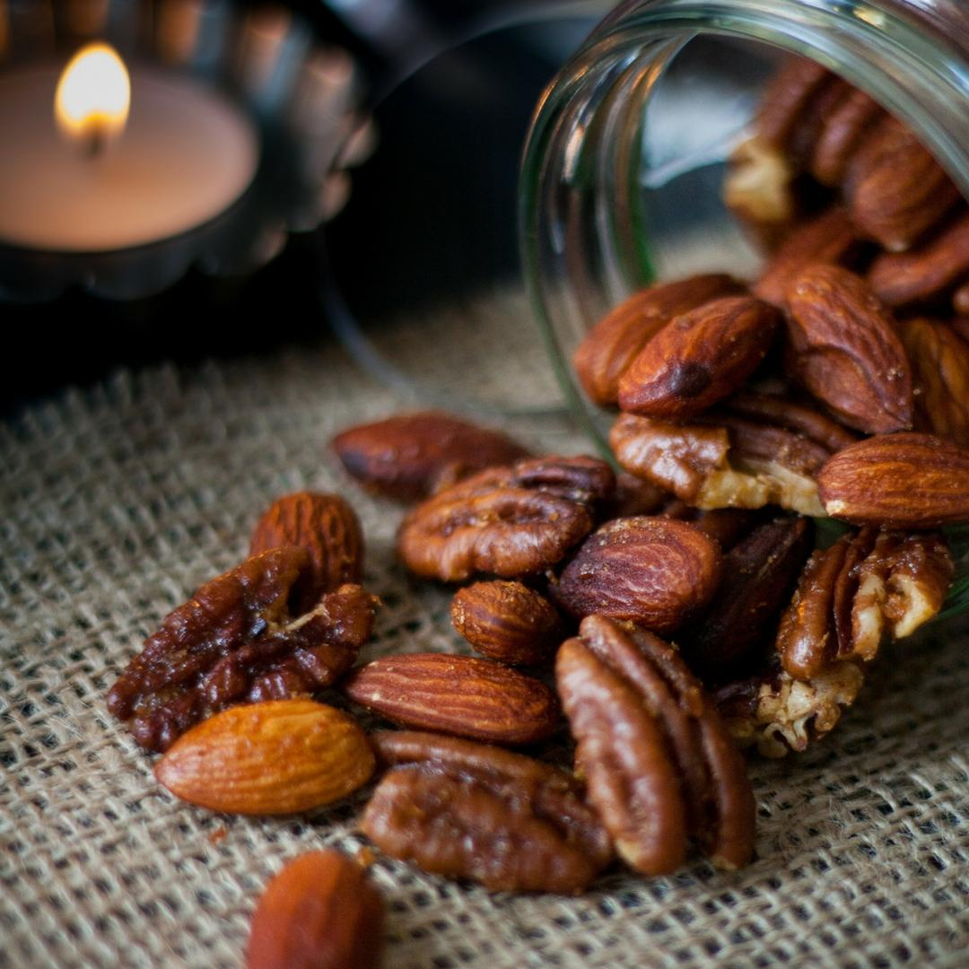 Spicy Roast Almonds and Pecans