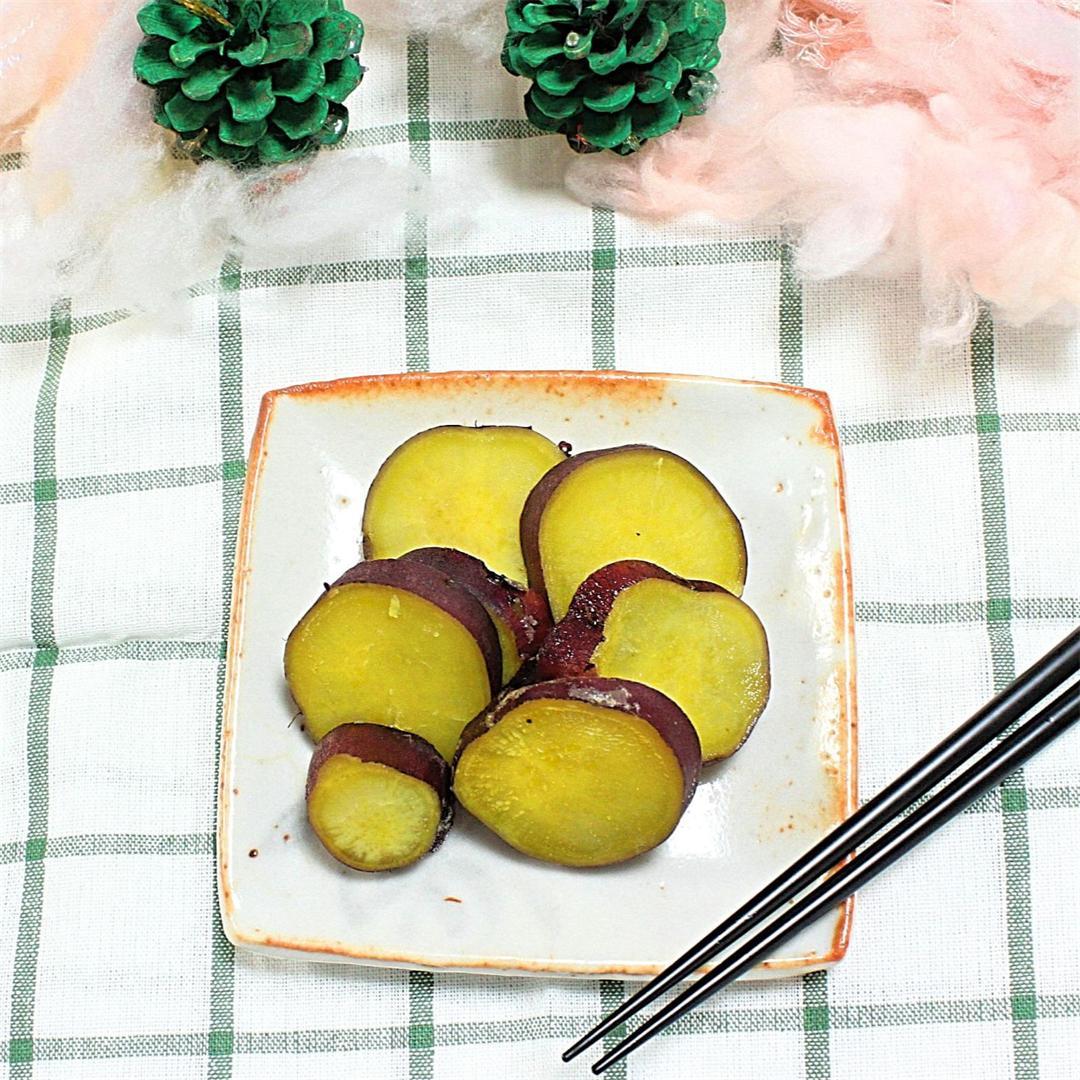 Very Very simple stewed sweet potatoes